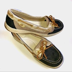 Sperry• Top Sider • Leather/Fabric Upper• 9.5